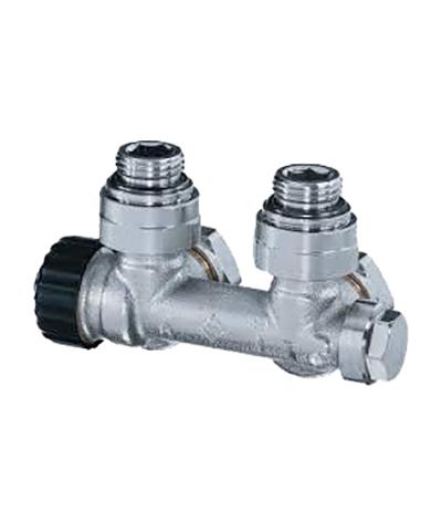 heimeier radiator onderaansluiting type multilux radiator onderblok haaks euroconus