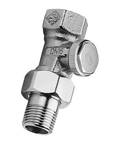 heimeier radiator voetventiel type regutec recht