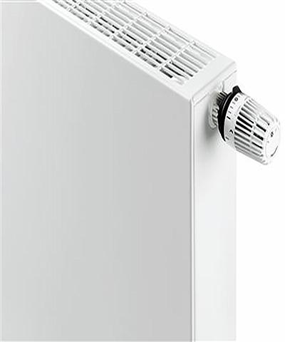 henrad everest plan radiator vlakke voorplaat sierrooster en zijpaneel