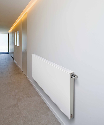 vasco flat line radiator vlakke voorplaat horizontaal gang