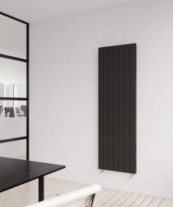 zwart - met onderaansluiting (links of rechts)