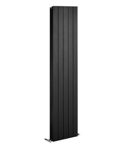 Thermrad Alustyle PLUS designradiator 1833x320mm - Zwart - met midden onderaansluiting