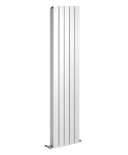 Thermrad Alustyle PLUS designradiator 2033x400mm - Wit - met midden onderaansluiting