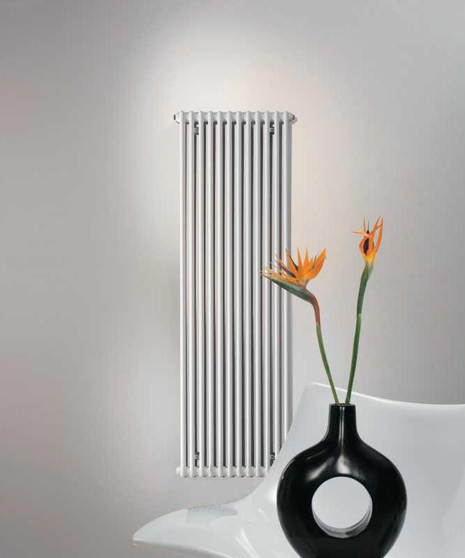 Zehnder  Charleston Vertical (leden radiator) 2200x368x136mm wit (RAL9016)