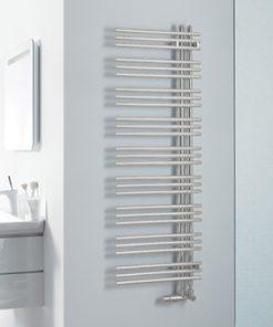 Zehnder Yucca assymmetrisch handdoekradiator 1736 x 578 mm - Wit