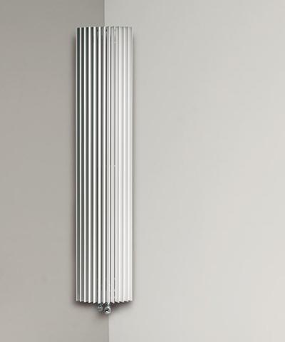 Jaga Iguana CircoCorner verticale designradiator - 2400x270mm