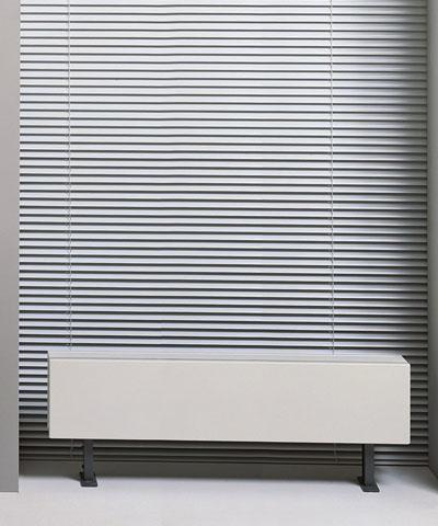 Jaga Linea Plus Vrijstaande convectorradiator 350x2800x180mm