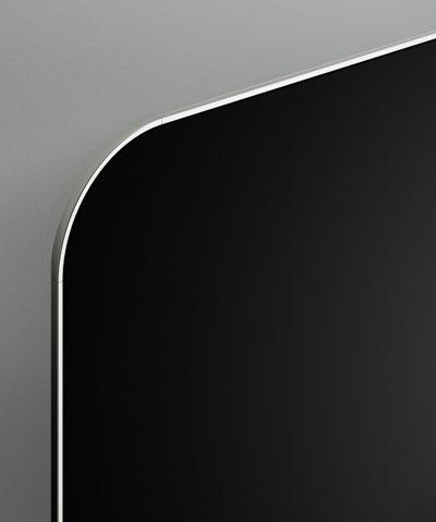 kleur: Zwart-alu-Zwart - 1500x600x30mm-400W
