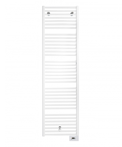 Vasco IRIS HD-EL elektrische badkamerradiator 750x1836x34mm (BxHxD) wit 9016