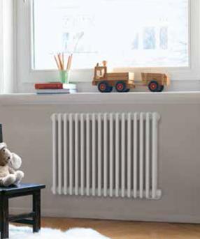 Zehnder Charleston horizontale elektrische designradiator incl. RF bediening - 613 x 1282 - 2000 watt