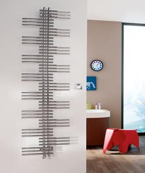 Zehnder Yucca elektrische handdoekradiator Symmetrisch 1772x800 wit